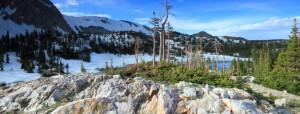 Rocky terrain of Wyoming