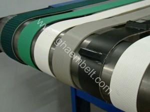 تسمه نوار نقاله PVC و PU ساده و پله دار (5)